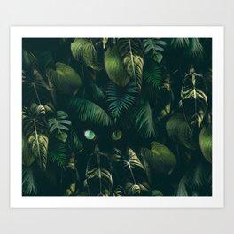 For the Emerald Deep  Art Print