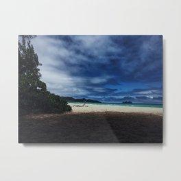 Bellows Beach Metal Print