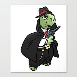 Mafia gangster gift robber Cosa Nostra Canvas Print