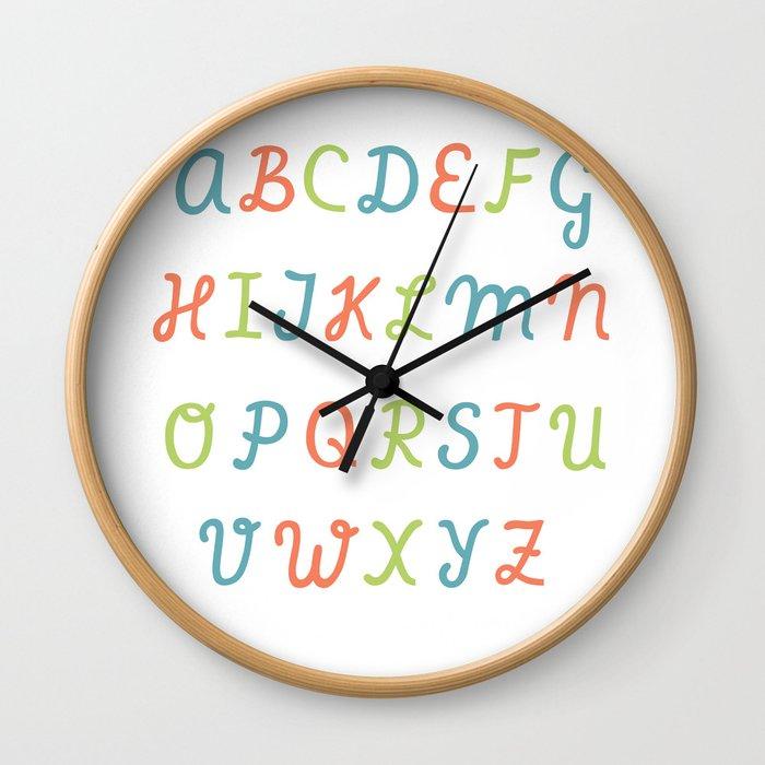 ABC...RGB... Wall Clock