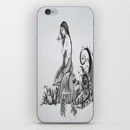 Mermaid and Monster iPhone Skin