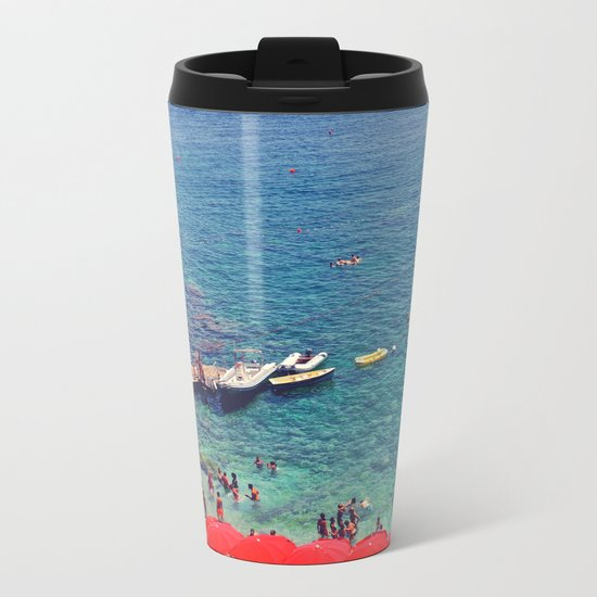Summers in Capri are what dreams are made of. Metal Travel Mug