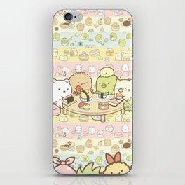 Animals Eat Sushi iPhone Skin
