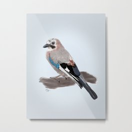 The Eurasian Jay Metal Print