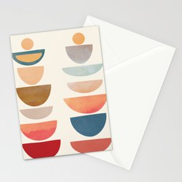 Modern Abstract Art 75 Stationery Cards