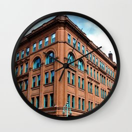 Water & Chicago Wall Clock