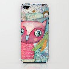 Owl, Bird and Fairy iPhone & iPod Skin