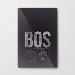 BOS II Metal Print