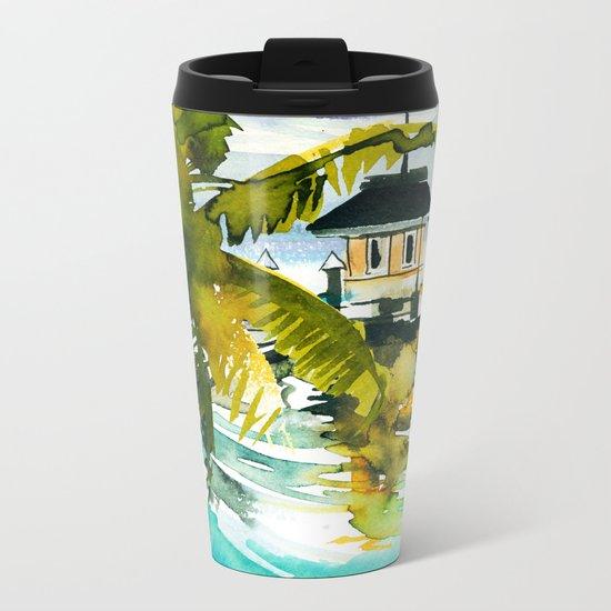 Seascape #1 Metal Travel Mug