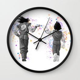Kakarotto Goku Vegeta Dragon Ball Wall Clock