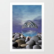 refraction of light -1- Art Print