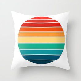 Game colors Throw Pillow