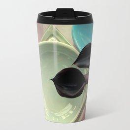 Black Callas, Over And Underlap Travel Mug