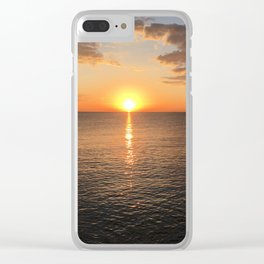 Early Morning by the Lake 2 Clear iPhone Case