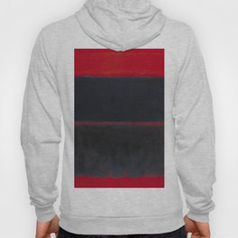 1957 Light Red Over Black by Mark Rothko HD Hoody