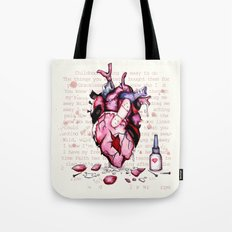Wild Horses Broken Heart Tote Bag