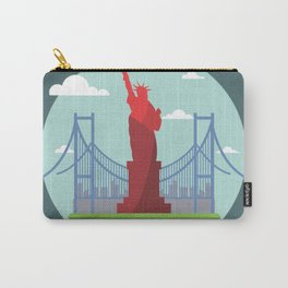 Statue in the scope Carry-All Pouch