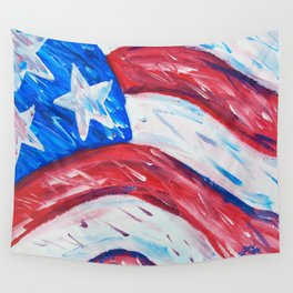 Old Glory Pop Wall Tapestry