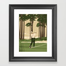 Julius Boros Framed Art Print