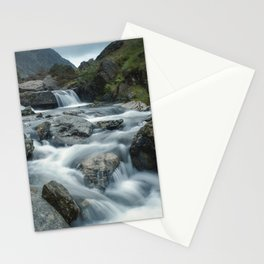 Valley of Waterfalls III Stationery Cards