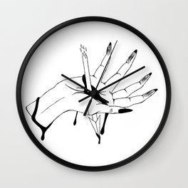 Break the arrow Wall Clock