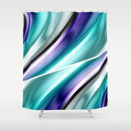Color gradient 17 Shower Curtain