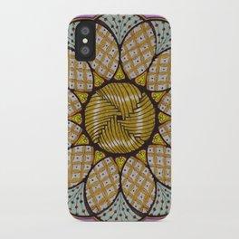 Abundance mandala - מנדלה שפע iPhone Case