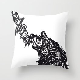 Wolfff Throw Pillow