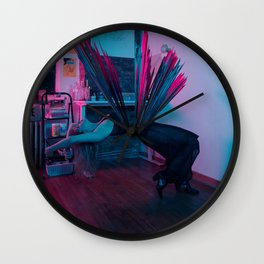 The Fragmentation of the Self Wall Clock