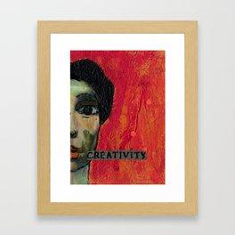 Creativity Framed Art Print