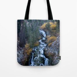 Evening Cascade (Kings Creek) Tote Bag