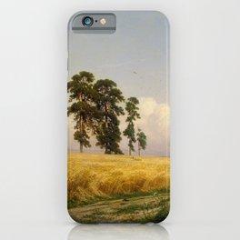 Rye by Ivan Shishkin iPhone Case