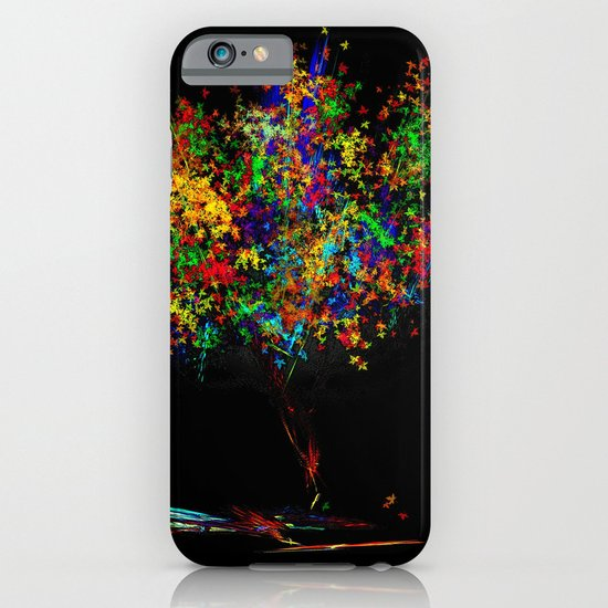 The Most Colorful Tree of the World iPhone & iPod Case