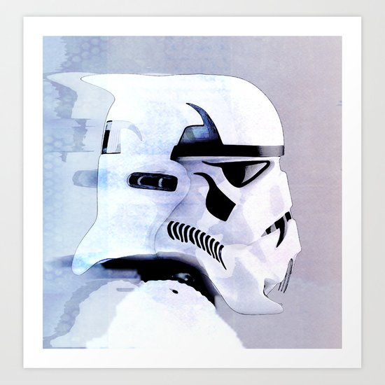 vampire trooper Art Print