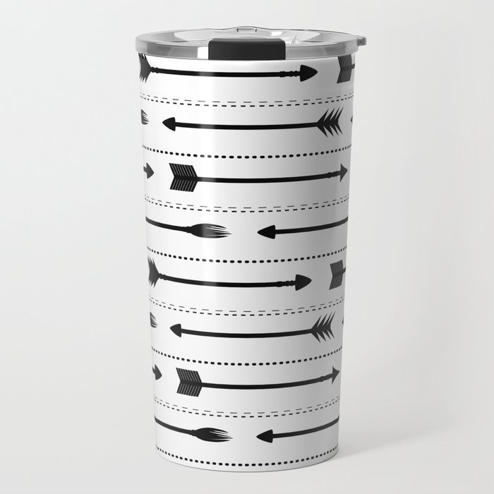 Arrows Travel Mug