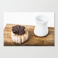 dessert Canvas Prints featuring dessert by Theresia Pauls