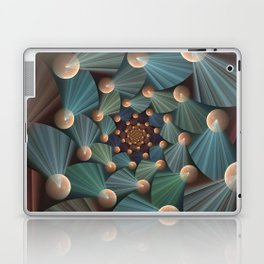 Graphic Design, Modern Fractal Art Pattern Laptop & iPad Skin