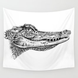 Alligator  Wall Tapestry