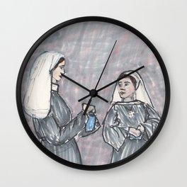 Two Nuns Wall Clock