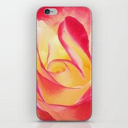 Summer Rose Untouched iPhone Skin