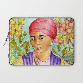 Woman With Adinkra Laptop Sleeve