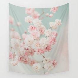 Gypsophila pink blush ll Wall Tapestry