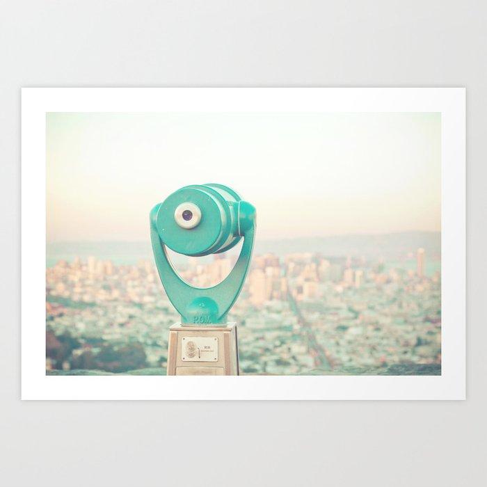 City Dreams Art Print