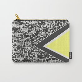 Abstract Mountain Range Carry-All Pouch