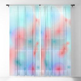 movement and stillness 2 Sheer Curtain