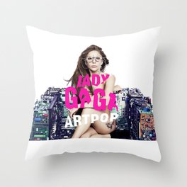 ARTPOP TechChair  Throw Pillow