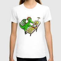 dentist T-shirts featuring Dragon Dentist by Tory Erpenbeck