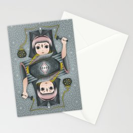 Snow Fireflies Stationery Cards