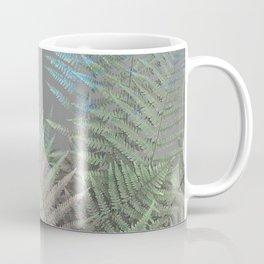 Rainbow Fern on Grey #decor #buyart #foliage Coffee Mug