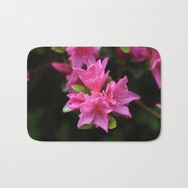 Pink Azelaea Spring Flowers Pretty Flowers Blossoms Nature Flora Bath Mat